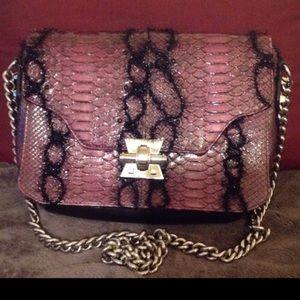 Handbags - Reposh- Emm Kuo python chain bag